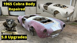 BODY REPAIR on a 1965 Cobra a Factory five kit car from copart