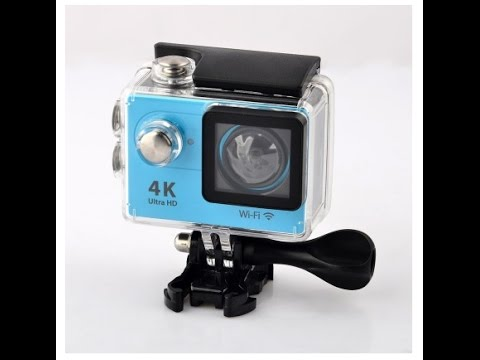 12MP 2 Inch 4K HP 170° Wide Angle Lens Waterproof Sports Camera Review