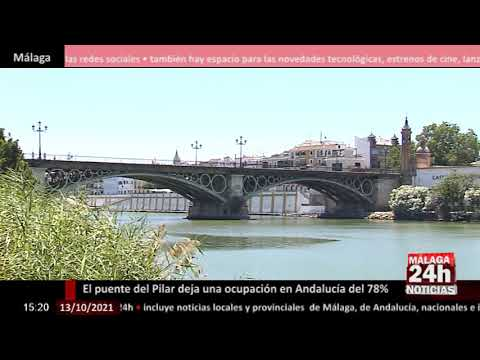 🔴Noticia - El Puente del Pilar deja en Andalucía una ocupación del 78%