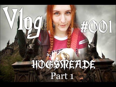 Vlog 001 Harry Potter - Universal Studios Florida - Hogsmeade Part 1