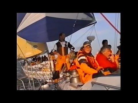 Millennium Round The World Yacht Race - Aboard Spirit Of Juno