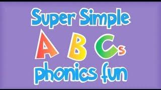 Super Simple ABCs Phonics Song: R - Z thumbnail