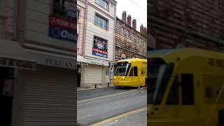 Tramvay da yolculuk çok özel görüntüler-Canlı