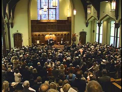 First Presbyterian Church, Tuscaloosa, Alabama; November 23rd, 2014 (Charlie's Last Service)