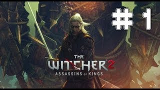 The Witcher 2: Assassins Of Kings - Game Walkthrough Part 1 - (Xbox360/PC) [HD]