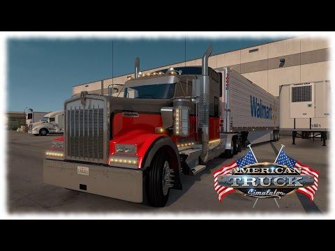 American Truck Simulator - Kenworth W900/Utility 3000R