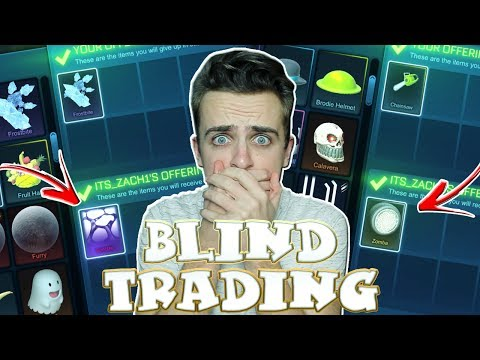 *OMG* BLIND TRADING - I GOT WHITE ZOMBAS, SPECTRE & MORE! - WHITE DRACOS ON THE LINE | Rocket League