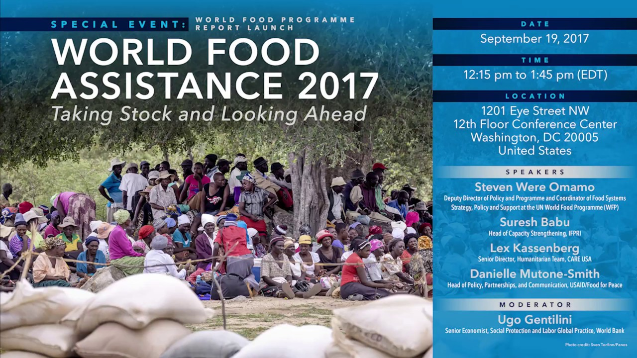 World Food Programme Report Launch,