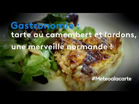 gastronomie-:-la-tarte-au-camembert-et-lardons,-une-merveille-normande-!---météo-à-la-carte