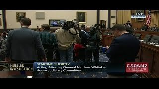 Acting Attorney General Whitaker Testifies Before Congress