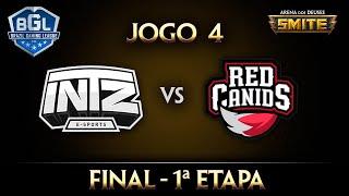 INTZ X Red (Final - Jogo 4) Smite BGL 2016 - 1ª Etapa