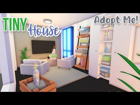 Tiny House Speed Build Roblox Adopt Me Xanh En