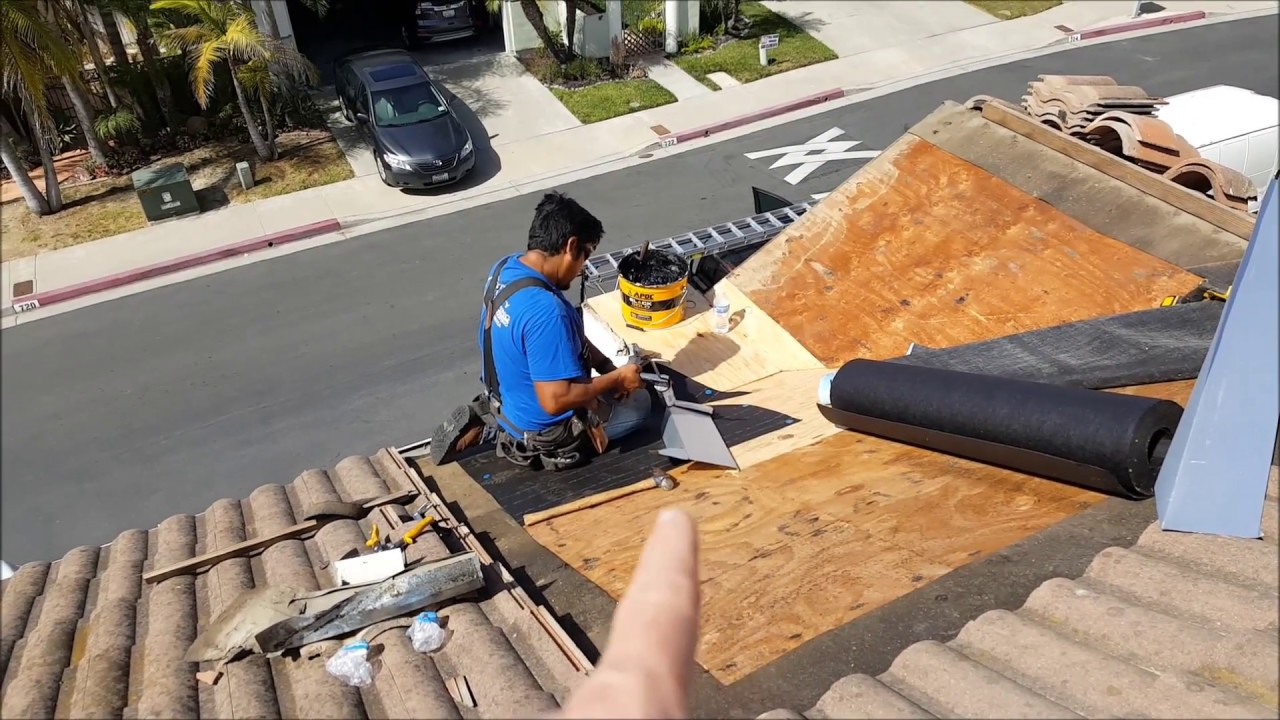 San Clemente Roofing Valley Flashing Repair And Mold