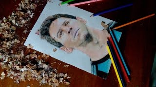 Drawing Lionel Messi-Argentina