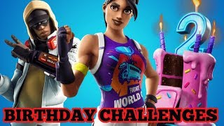 Fortnite Season 9 Birthday Challenges, Overtime Challenges, Free World Cup Warrior Skin For Someone