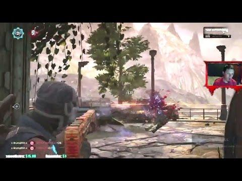 Gears of War 4 - LandanNips Stream Highlights #2