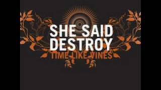 She Said Destroy - Time Like Vines