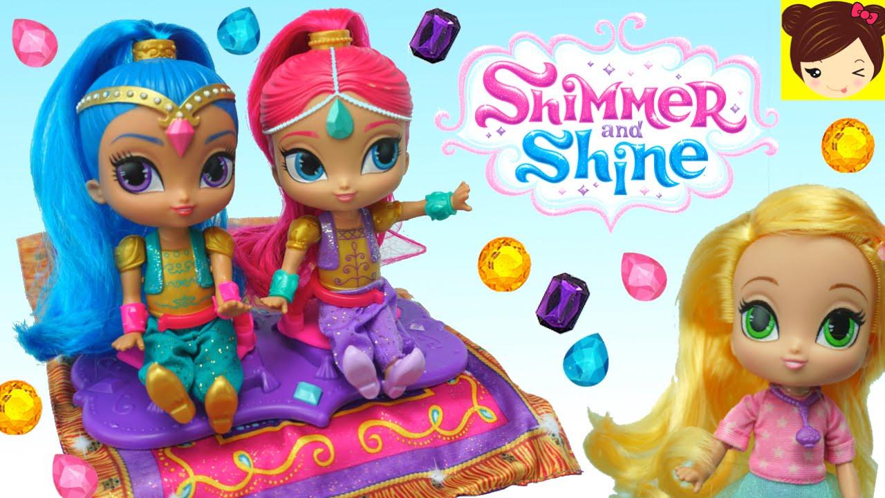 Shimmer y Shine Juguetes en Español - Muñeca Leah Vuela en la ...