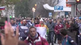 Олимпийский огонь погас в очередной раз(Как сообщает корреспондент