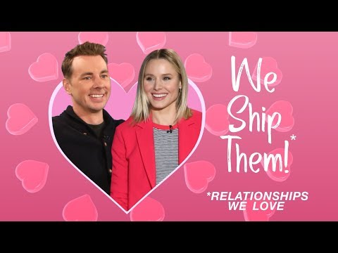 WE SHIP THEM: Kristen Bell & Dax Shepard