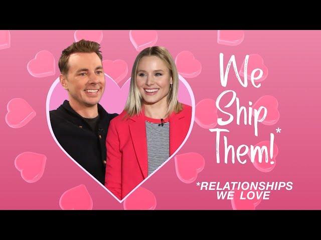 WE SHIP THEM: Kristen Bell & Dax Shepard