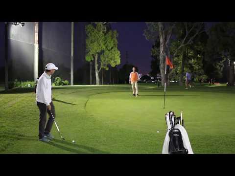 PGA Tour Short Game Coach Night Golf Vlog
