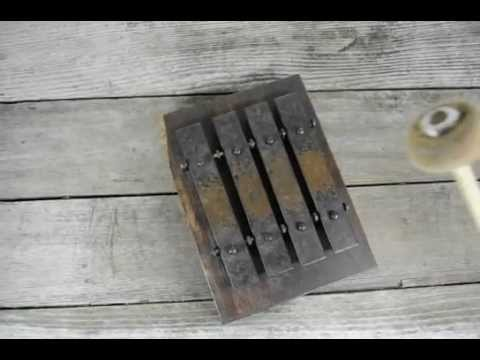 Antique Deagan No 20 Door Bell Chimes Youtube