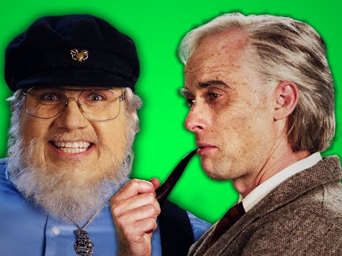 J. R. R. Tolkien vs George R. R. Martin - Behind the Scenes of Epic Rap Battles of History