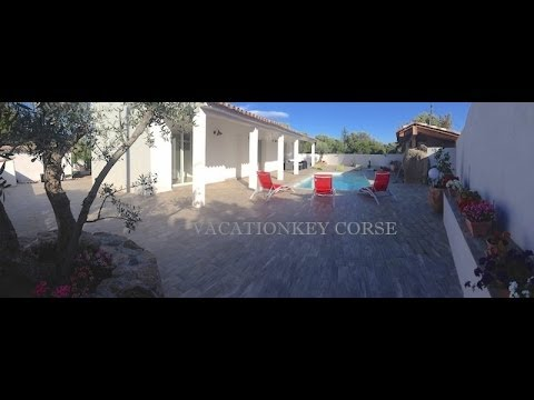 Location villa ste lucie de porto vecchio 6 pers avec Location villa en corse avec piscine
