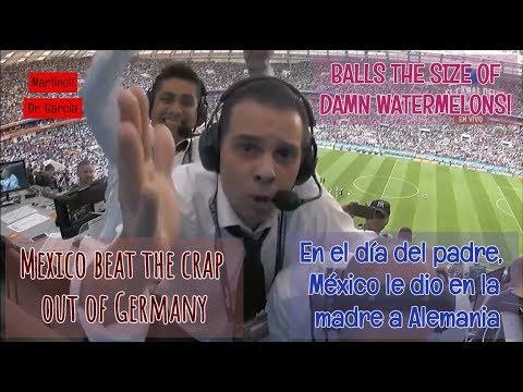 Download Funny mexican commentator goes CRAZY - Mexico 1-0 Germany - MARTINOLI & LUIS GARCÍA