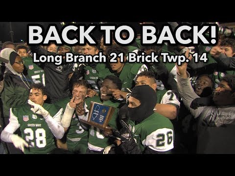 Long Branch 21 Brick Twp. 14    CJ Group 4 Final   Back to Back titles for Green Wave!