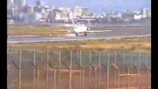 british world bac 111 taking off from faro portugal
