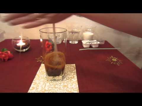 греческий холодный кофе Фраппе готовим с помощью подручных средств