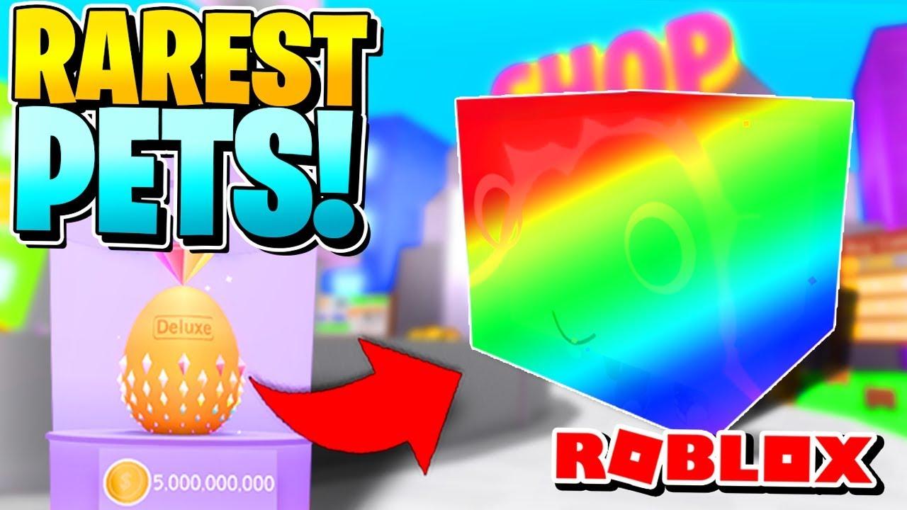 ROBLOX PET SIMULATOR: RAREST & BEST PETS?! [TIER 11 OPENING x10]