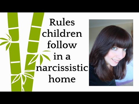 Rules Children Follow In A Narcissistic Home