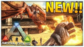 THE NEW T-REX IS INCREDIBLE! - MODDED ARK SURVIVAL EVOLVED SCORCHED EARTH #1