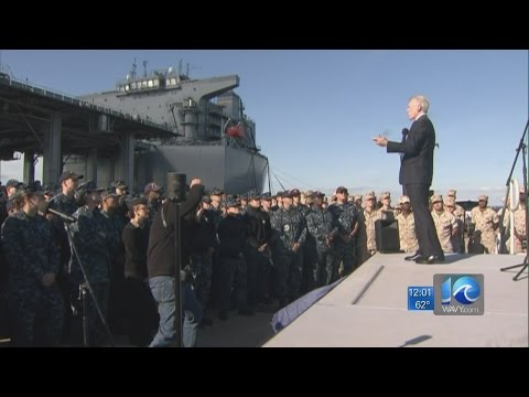 "Secretary of the Navy Ray Mabus to hold ""All Hands Call"" at Naval Station Norfolk"