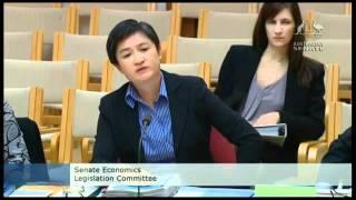Penny Wong 'meowed' at by Liberal Senator David Bushby in an estimates hearing