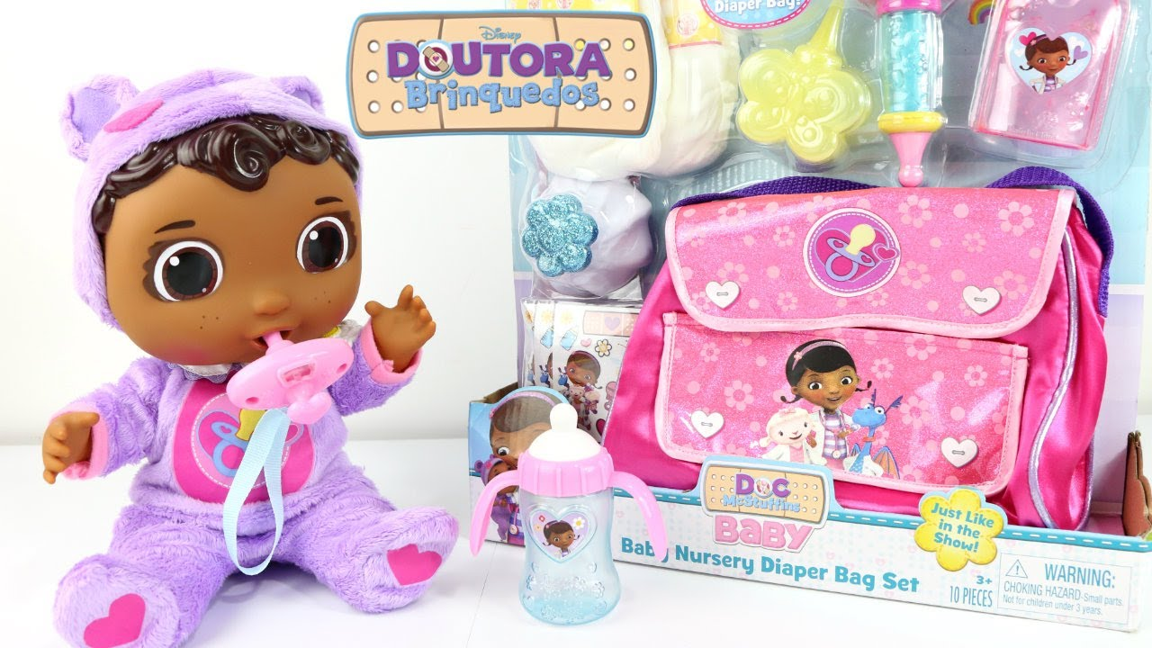 Baby Doll Doc Mcstuffins Get Better Baby Cece Check Up
