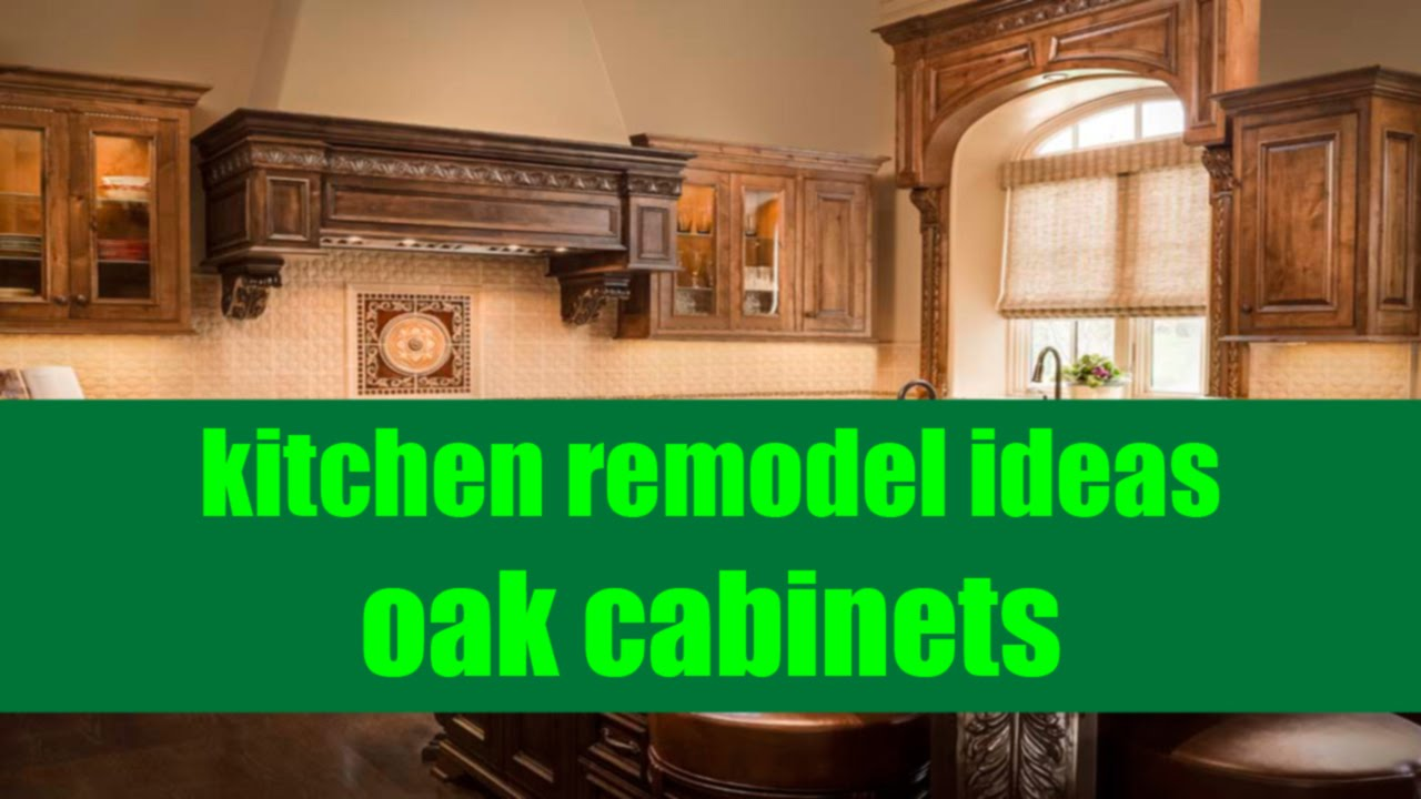 Remodel Kitchen Keep Oak Cabinets