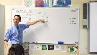 Applying the Sine Rule (1 of 2: Finding an acute angle)