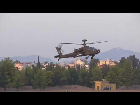Athens Flying Week 2017 Hellenic Army Aviation AH-64D Apache Pegasus Demo Team