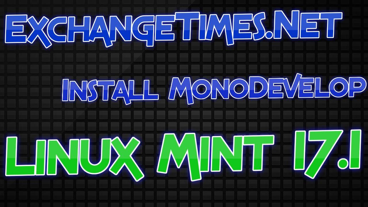 monodevelop linux mint 19
