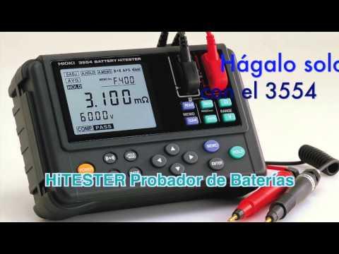 Hioki HiTESTER Probador de Baterías 3554