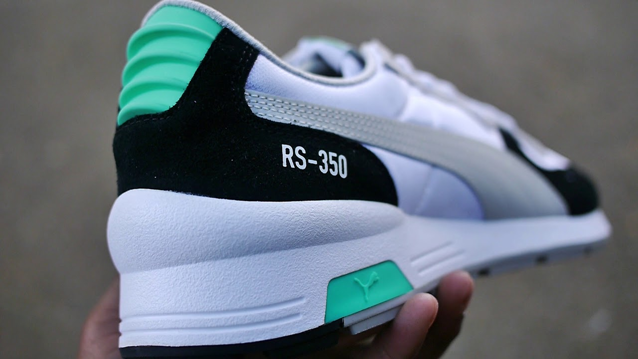 Og Puma Invention Quick 350 On amp; Rs Green Look Re Feet black qqwF4R