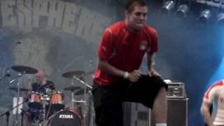 HATESPHERE  Backstabber@Knockout Festival 12.07.2009 Live