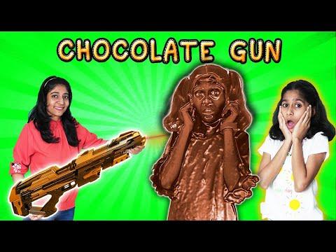 OMG !!! Pari Ko Mili Chocolate Gun   Fun Story   Pari's Lifestyle