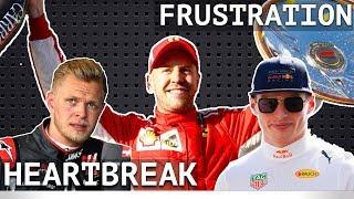 Vettel Steals Victory - Verstappen's Spoiled Day - Haas' Heartbreak - Mclaren Hopeful