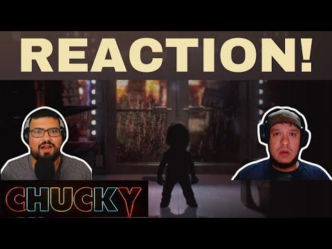 CHUCKY TRAILER SERIES REACTION!! (2021 Official)