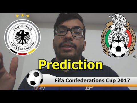 FIFA CONFEDERATIONS CUP Semifinal and Final Prediction | Portugal vs Chile & Germany vs Mexico 2017